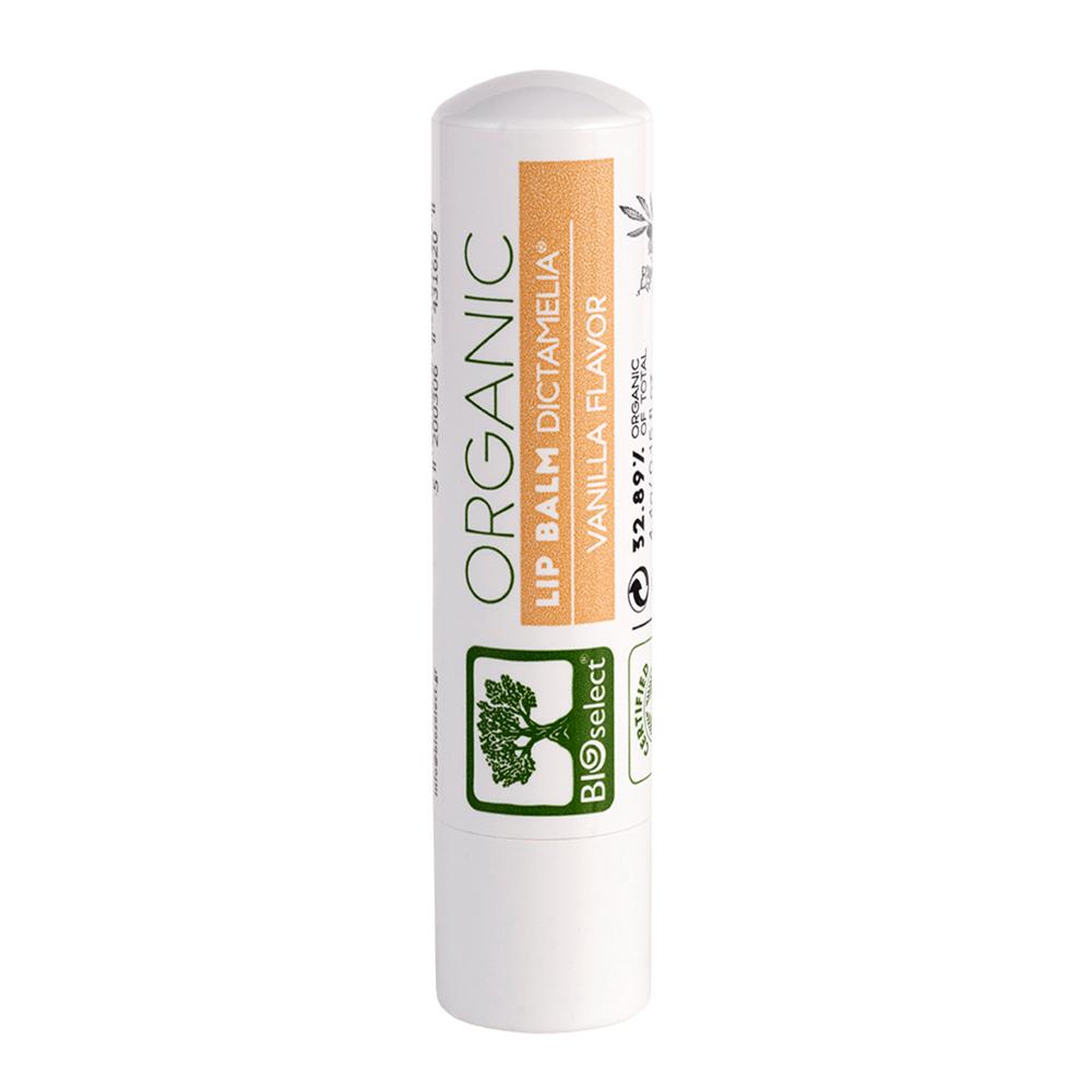 Bioselect Φυσικό Lip Balm για τα Χείλη Βανίλια