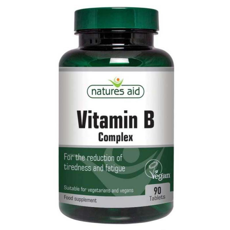 Natures Aid B Vitamin Complex 90 ταμπλέτες