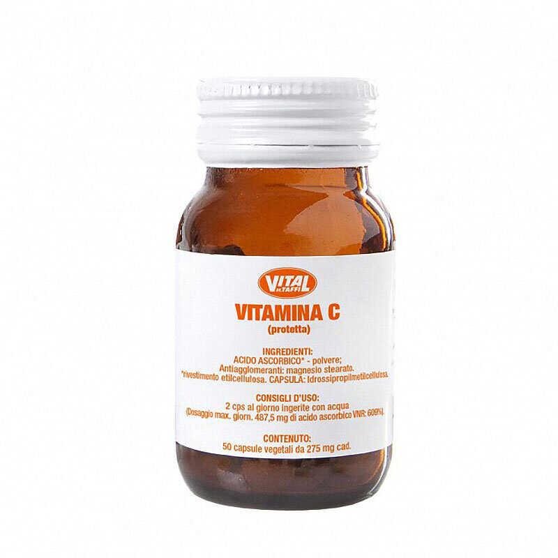 Vital Vitamin C Protected 275 mg 50 κάψουλες