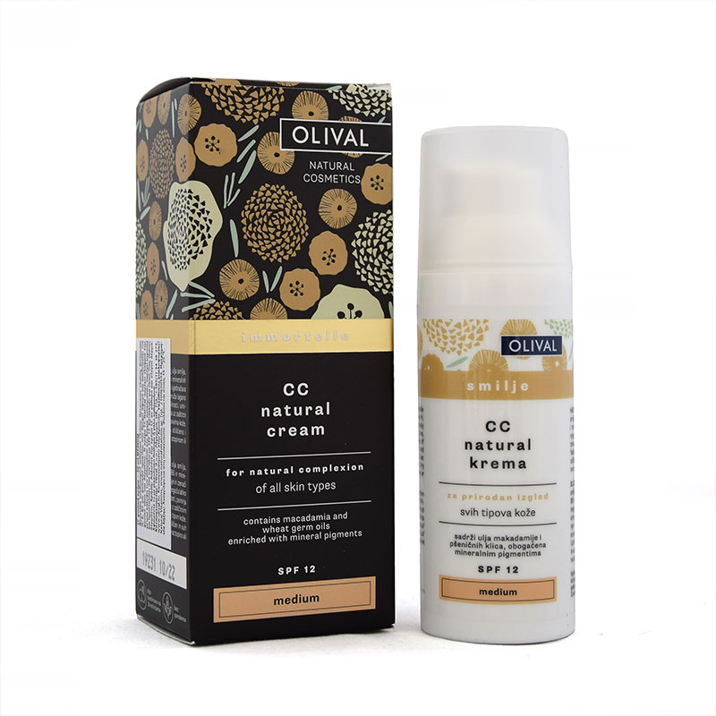 CC Natural Cream Medium Olival