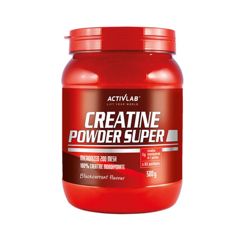 Super Creatine Powder Blackcurrant 500gr ActivLab