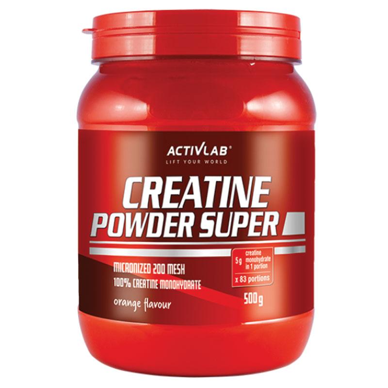 Super Creatine Powder Orange 500gr ActivLab