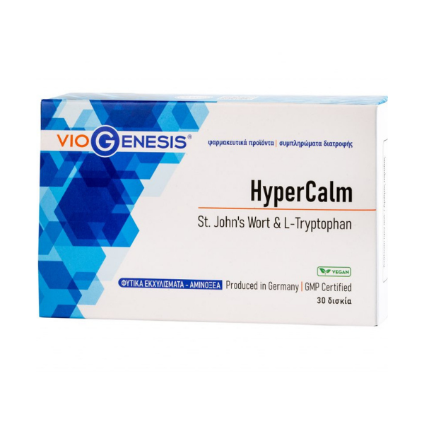 Hypercalm 30 tablets
