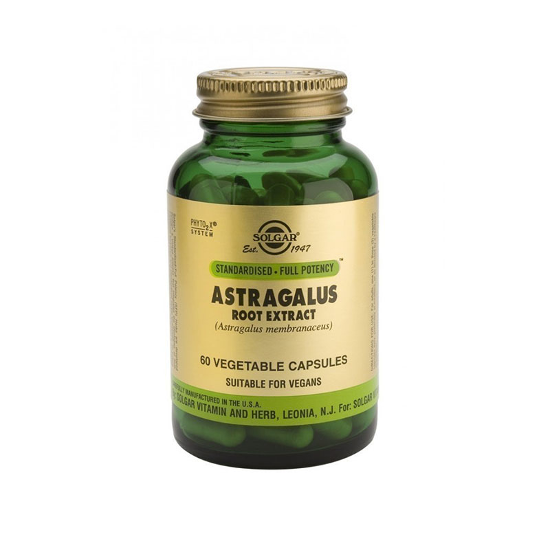 Astragalus Root extract Solgar 60 κάψουλες