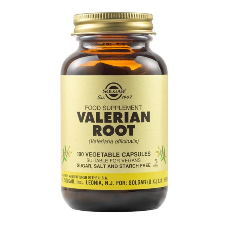 Solgar Valerian Root 100 κάψουλες