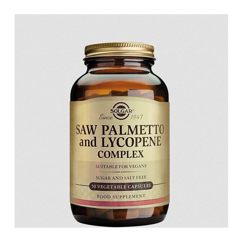 Solgar saw palmetto and lycopene complex 50 caps