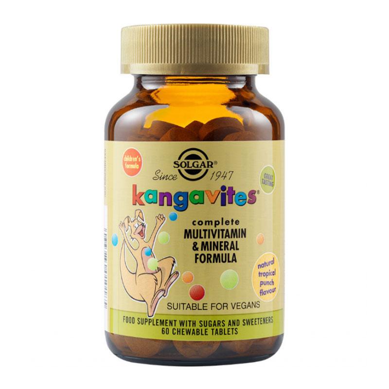 Kangavites Solgar tropical punch 60 softgels