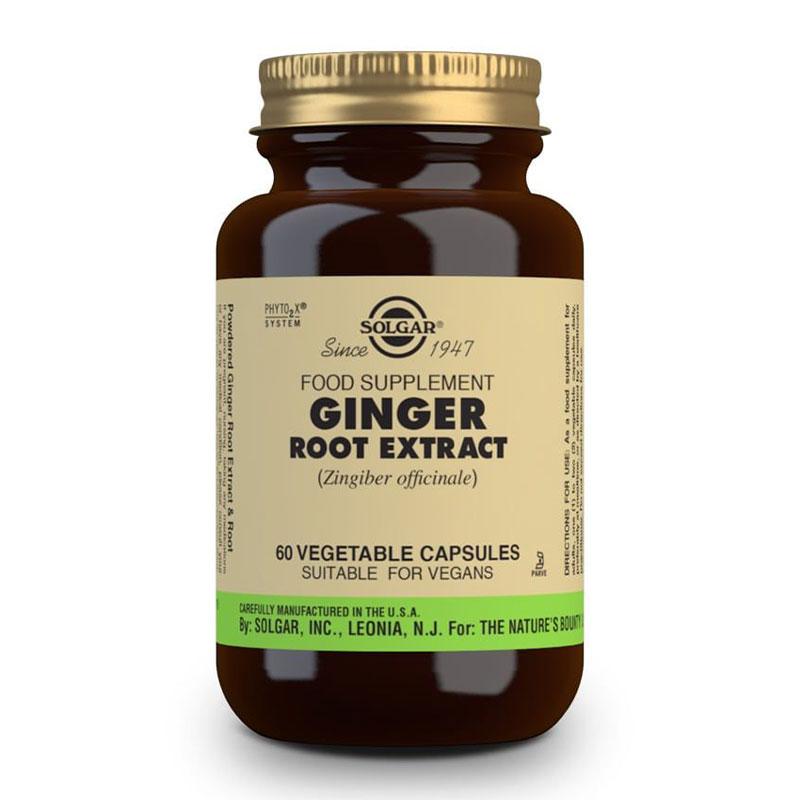 Ginger Root Extract Solgar 60 caps
