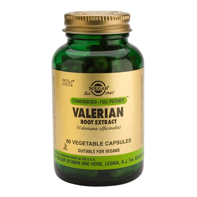 Valerian Root extract Solgar 60 softgels