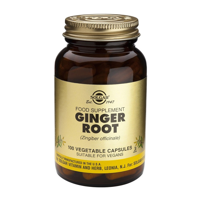 Ginger Root Extract 100caps