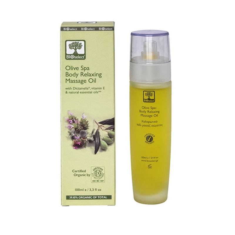 Olive spa body oil Bioselect